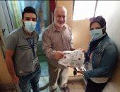 تسليم 3500 من أصحاب الأمراض المزمنة بالتأمين الصحى الشامل ببورسعيد الأدوية بالمنازل