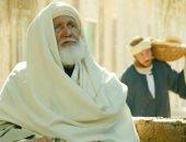 آخر صور للفنان الراحل محمد ريحان قبل وفاته من كواليس مسلسل موسى