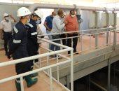 رئيس شركة مياه أسيوط يتابع انتظام العمل خلال إجازة عيد الفطر.. صور