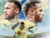 نيمار بعد انضمامه لمنتخب البرازيل لتصفيات المونديال: أحقق حلم طفولتي مرة أخرى