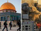غارات إسرائيلية جديدة على وسط وغرب قطاع غزة