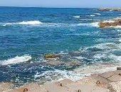 هنفسحك وأنت فى البيت.. بحر إسكندرية وجماله فى ثالث أيام العيد.. لايف وصور
