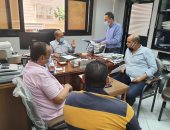 رئيس مياه الاسكندرية يتابع الفروع الإدارية والمحطات للتأكد من كفاءة التشغيل
