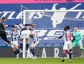 شاهد لحظة تسجيل أليسون بيكر هدفا قاتلا لـ ليفربول فى مرمى وست بروميتش