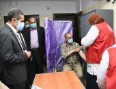 """إطلاق مبادرة """"اللقاح أمان"""" لتطعيم العاملين ضد فيروس كورونا بالغربية.. صور"""