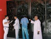 غلق وتشميع قاعات أفراح و20 كافيه ومحلا تجاريا وتحرير 215 محضرا فى 4 محافظات