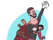 """أليسون """"سوبر هيرو"""" ليفربول في كاريكاتير اليوم السابع"""