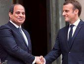 الرئيس السيسى لماكرون: مصر لن تقبل الإضرار بمصالحها المائية