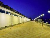 السوق الحضارى بدمياط قبل ساعات من افتتاحه رسميا بتكلفة 30 مليون جنيه.. صور