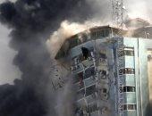 مصرع شخص وإصابة 10 فى انفجار بمبنى سكنى وسط مدينة غزة