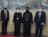 السفير الأمريكى يزور الكنيسة المرقسية بالإسكندرية اليوم.. صور