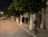 آخر أيام إجازة العيد فى شوارع وسط البلد.. هدوء وجمال أوروبى