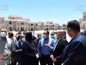 رئيس الوزراء يتفقد المشروعات الجارى تنفيذها بمدينة المنصورة الجديدة