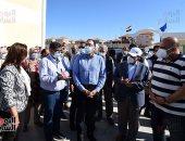 رئيس الوزراء يتفقد مشروع توسعات محطة صرف صحى رأس البر بتكلفة 240مليون جنيه