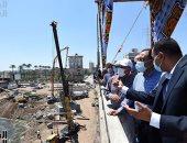 رئيس الوزراء يتفقد مشروعات تطوير وتوسعة الطريق الدائري حول المنصورة
