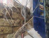 شكوى من تهالك كابينة الاتصالات فى قرية شاوه بالدقهلية.. والمحافظ يرد
