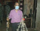 محافظة القاهرة تصادر 785 شيشة وتحرر 213 محضرا متنوعا