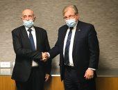 رئيس البرلمان الليبى والسفير الأمريكى يبحثان فى القاهرة تطورات الأوضاع بليبيا