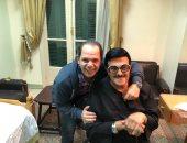 رامى إمام ناعيا سمير غانم: فقدنا قامة وقيمة كبيرة جدا فى مصر والعالم العربى