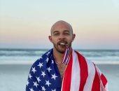 ابن أخت كرم جابر يلعب باسم أمريكا ببطولة المصارعة الشاطئية