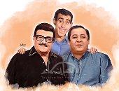 أسماء تشارك صحافة المواطن تصميم لثلاثى أضواء المسرح.. سمير غانم سيظل حيا فى قلوب محبيه