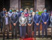 """وزيرة الصحة: الدولة دعمت تطوير """"فاكسيرا"""" بـ750 مليون جنيه لمواكبة تصنيع اللقاحات"""
