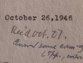 """بيع رسالة بخط يد أينشتاين تضم """"معادلة"""" بسعر 1.2 مليون دولار"""