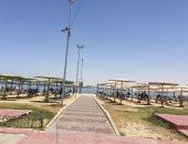 شواطئ الإسماعيلية تواصل استقبال المصطافين وسط إجراءات احترازية.. فيديو