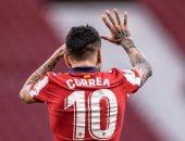 أتلتيكو مدريد يتعادل أمام بلد الوليد بهدف كوريا فى الدقيقة 57.. فيديو