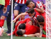 أتلتيكو مدريد بطلًا للدوري الإسباني للمرة الـ11 بفوز صعب على بلد الوليد