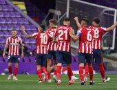 ملخص وأهداف مباراة بلد الوليد ضد أتلتيكو مدريد في الدوري الاسباني