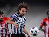 باوك يتقدم بهدف بالشوط الأول ضد أولمبياكوس فى نهائي كأس اليونان.. فيديو