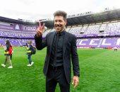 سيميوني: كان موسما صعبا ومعقدا لكنه الأفضل لـ أتلتيكو مدريد