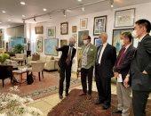 الممثل الرئيسى للجايكا بمصر: سعدت بزيارة متحف فاروق حسنى وأقدر دور مؤسسته