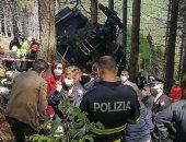 العربية: ارتفاع عدد قتلى حادث سقوط تليفريك شمال إيطاليا إلى 14 شخصا