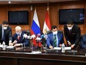 وزير الرياضة يصطحب نظيره الروسى فى جولة سياحية بمجمع الأديان بعد توقيع بروتوكول