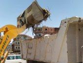 رفع 6851 طن قمامة وإزالة 560 حالة إشغالات متنوعة بمراكز أطسا وسنورس وطامية