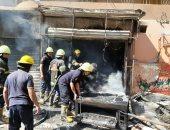 إخماد حريق داخل شقة سكنية فى التجمع دون إصابات