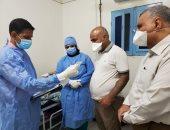 وكيل صحة الغربية يحيل المتغيبين والمقصرين بمستشفى السنطة للتحقيق.. صور