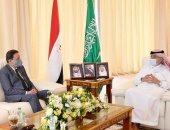 رئيس مجلس الشورى السعودى خلال لقائه كرم جبر:  السيسى قدم لمصر والمنطقة كلها إنجازات غير مسبوقة