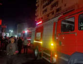 الحماية المدنية بالقليوبية تسيطر على حريق بصالة ساونا وجاكوزى فى قليوب