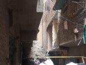 """مشاهد ترصد آثار انفجار عقار فيصل.. والأهالى يروون التفاصيل """"فيديو"""""""