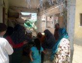 """توعية المواطنين بقرى """"حياة كريمة"""" فى كفر الشيخ بأهمية تلقي لقاح كورونا"""