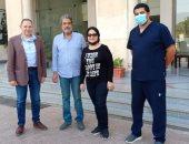 جمال عبد الناصر يعلن تعافى زوجته الفنانة فاطمة الكاشف من فيروس بكورونا