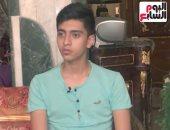 شاب تعرض للطعن لإنقاذ فتاة من ذئاب التوك توك: هستجدع لآخر نفس فى عمرى.. فيديو