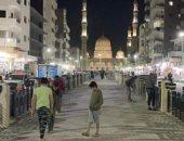 الانتهاء من تنفيذ جزء كبير من الممشى السياحي المؤدي لمسجد السيد البدوى بطنطا