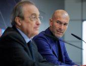 ريال مدريد يرفض تفعيل شرط الجزائى بقيمة 10 ملايين يورو احتراما لتاريخ زيدان
