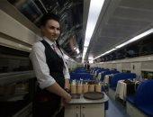 موائد الزعماء ورؤساء الدول فى مطاعم القطارات الروسية