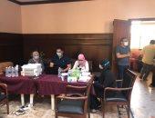 طنطا تقوم بتطعيم أعضاء النادى ضد وباء كورونا بالتعاون مع مديرية الصحة بالغربية