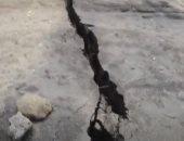 نزوح آلاف السكان وتشقق شوارع جوما بالكونغو بسبب بركان نيراجونجو.. فيديو وصور